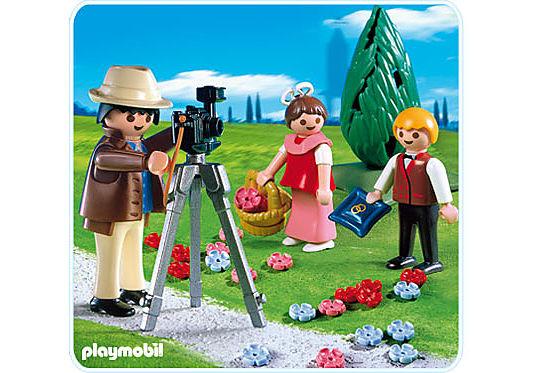4299-A Photographe avec enfants d'honneur detail image 1