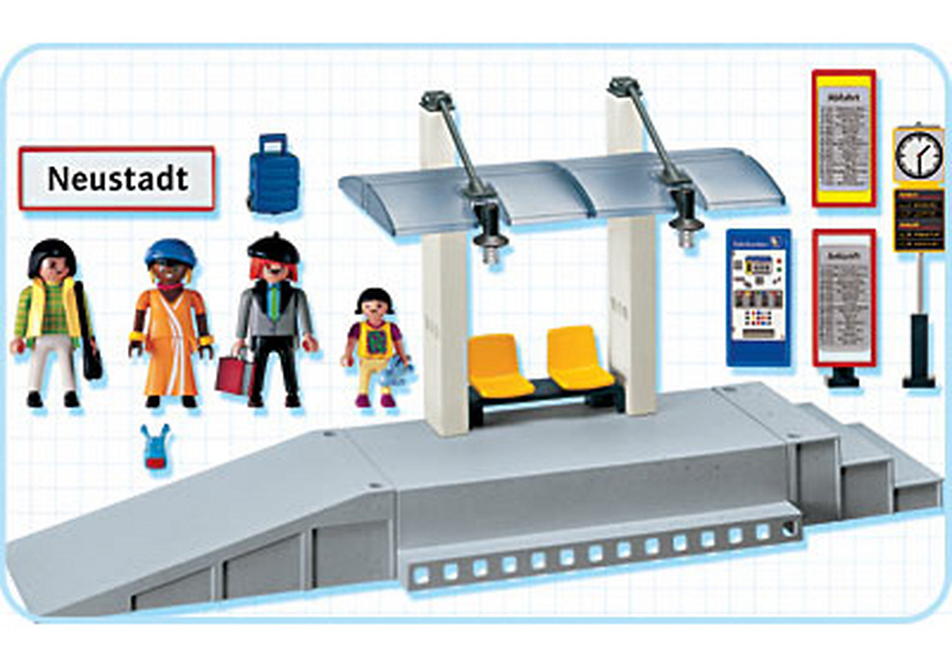 http://media.playmobil.com/i/playmobil/4304-A_product_box_back/Bahnsteig mit Fahrgastunterstand