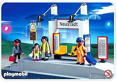 4304-A Voyageurs / quai de gare detail image 1