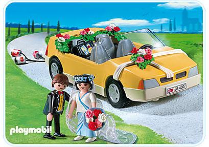 4307-A Voiture des mariés detail image 1