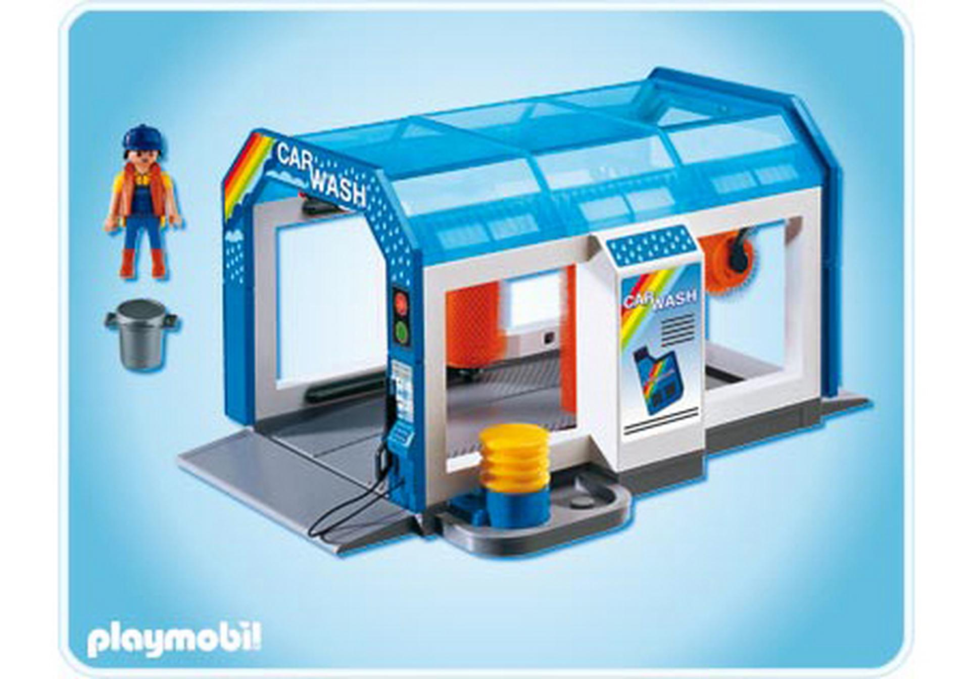 station de lavage voitures 4312 a playmobil france. Black Bedroom Furniture Sets. Home Design Ideas