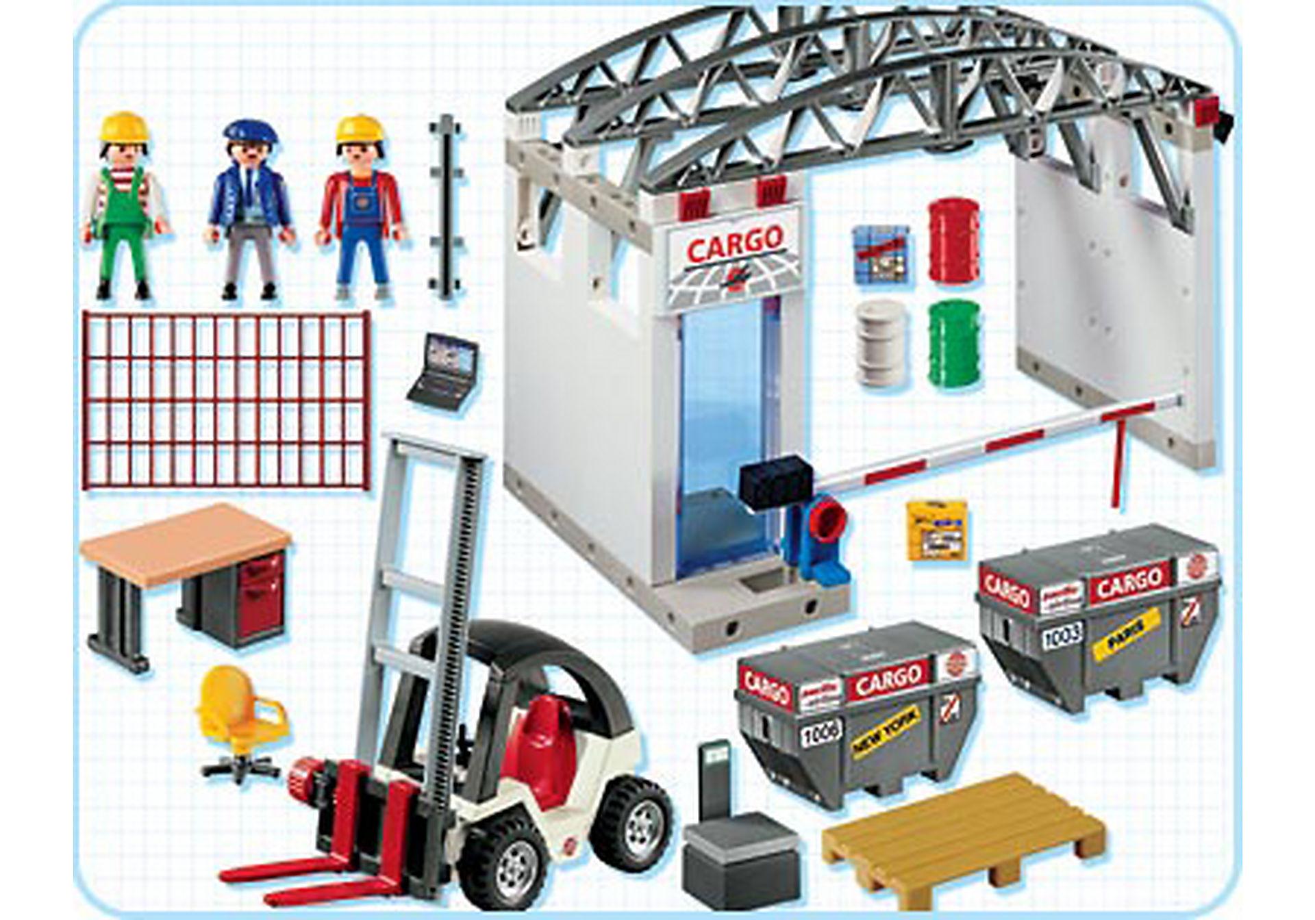 4314-A Cargohalle mit Gabelstapler zoom image2