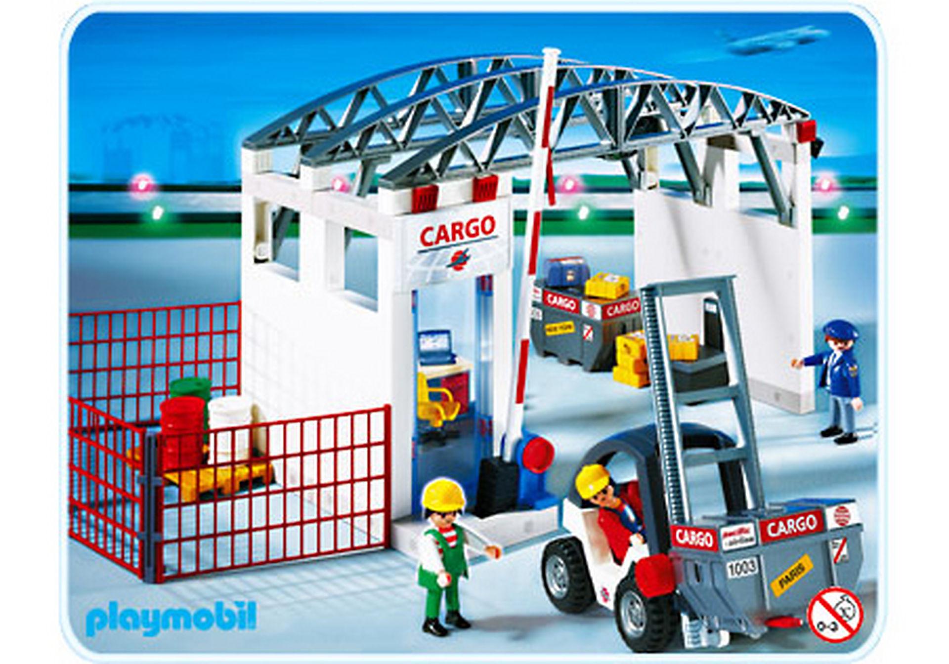 4314-A Cargohalle mit Gabelstapler zoom image1