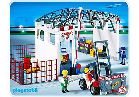 4314-A Cargohalle mit Gabelstapler detail image 1