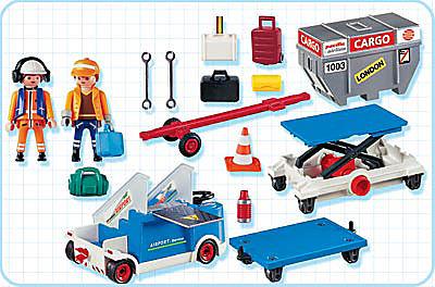 4315-A Cargo- und Treppenfahrzeug detail image 2