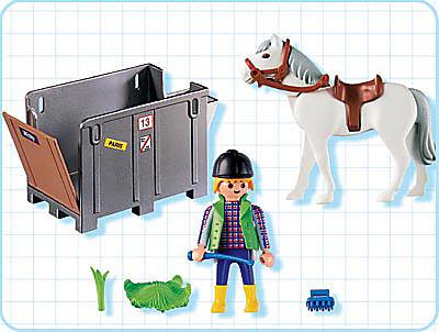 4316-A Transportbox mit Pferd detail image 2