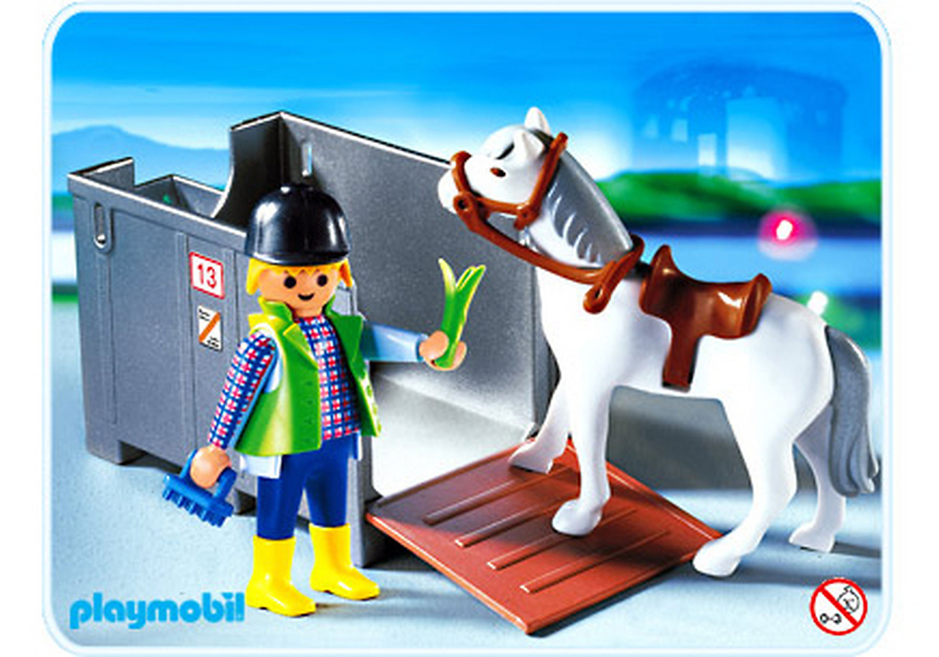 4316-A Transportbox mit Pferd zoom image1