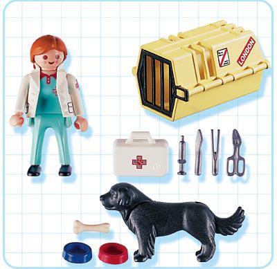 http://media.playmobil.com/i/playmobil/4317-A_product_box_back/Vétérinaire / chien / cage de transport