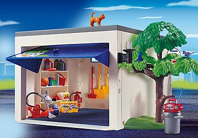 4318 Garage de la maison