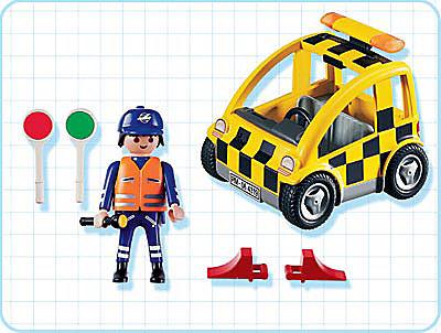 4319-A Agent de signalisation / voiture detail image 2
