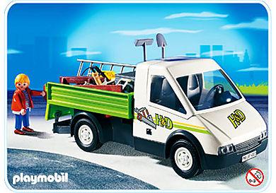 4322-A Entrepreneur et camionnette