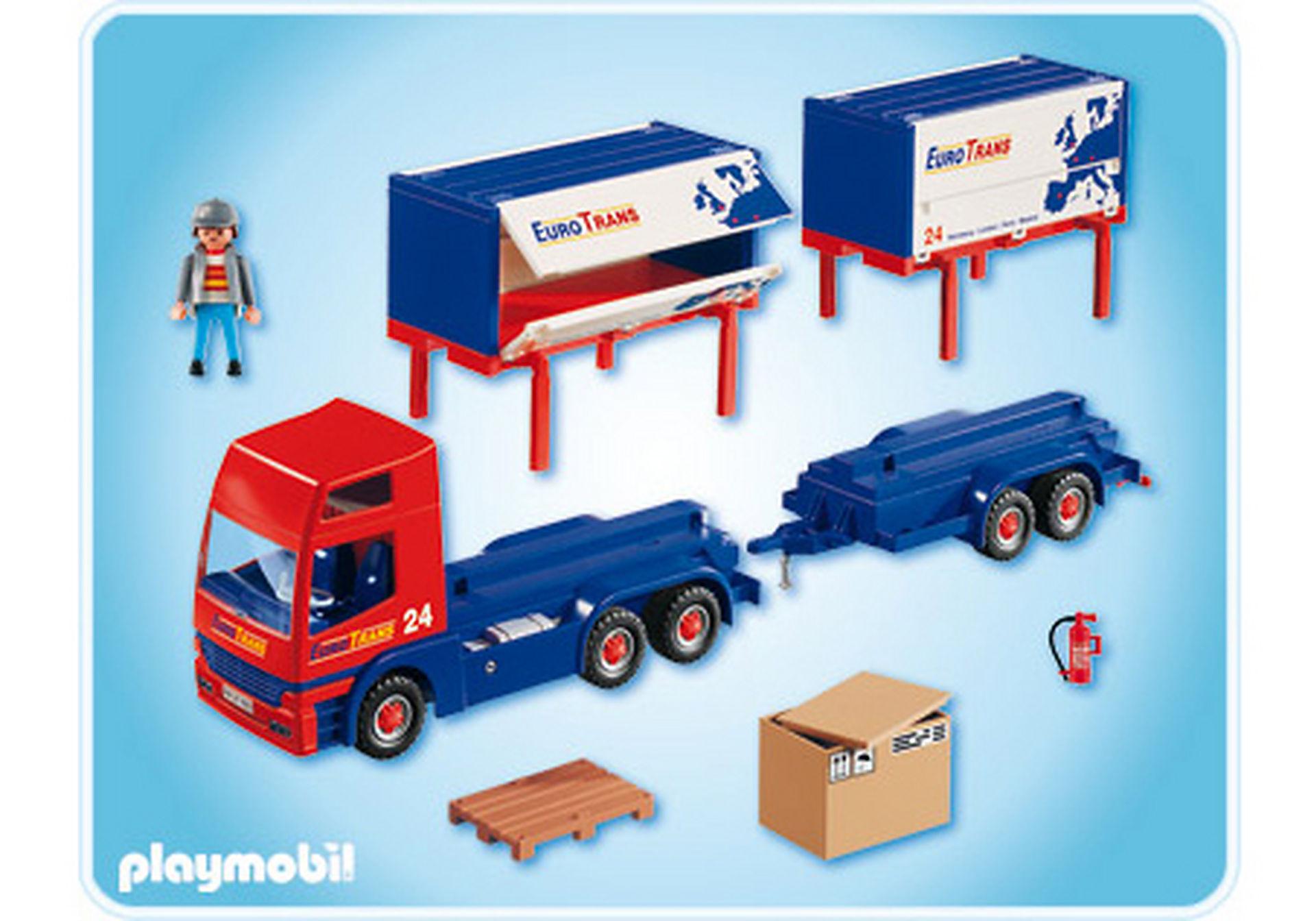 4323-A Routier avec camion et remorque zoom image2