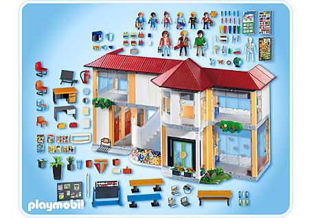 4324-A Große Schule mit Einrichtung detail image 2