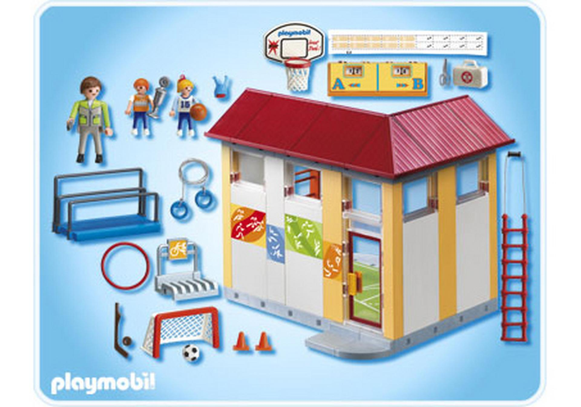 Playmobil salle de sport 28 images playmobil set 3969 for Piscine playmobil
