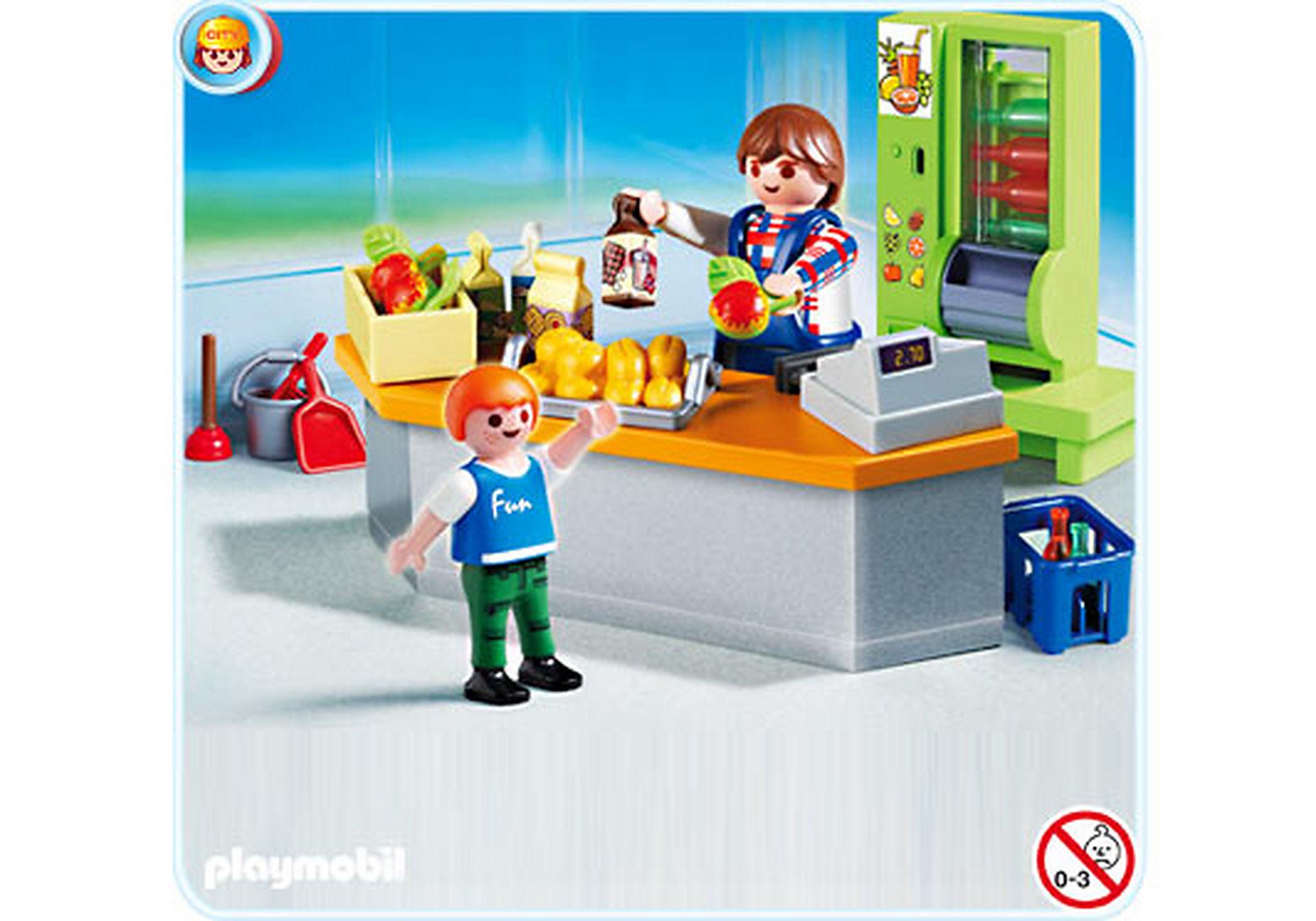 4327-A Kiosk mit Hausmeister zoom image1