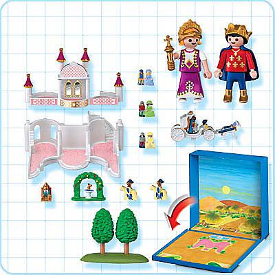4330-A Micro Playmobil Château de Princesse detail image 2