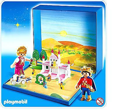 4330-A Micro Playmobil Château de Princesse detail image 1