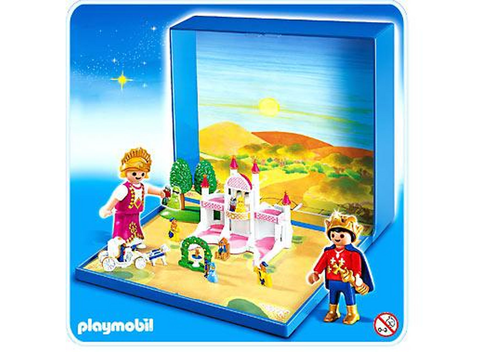 4330-A Micro Playmobil Château de Princesse zoom image1