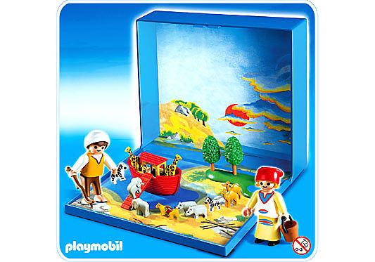 4332-A Micro Playmobil Arche de Noé detail image 1