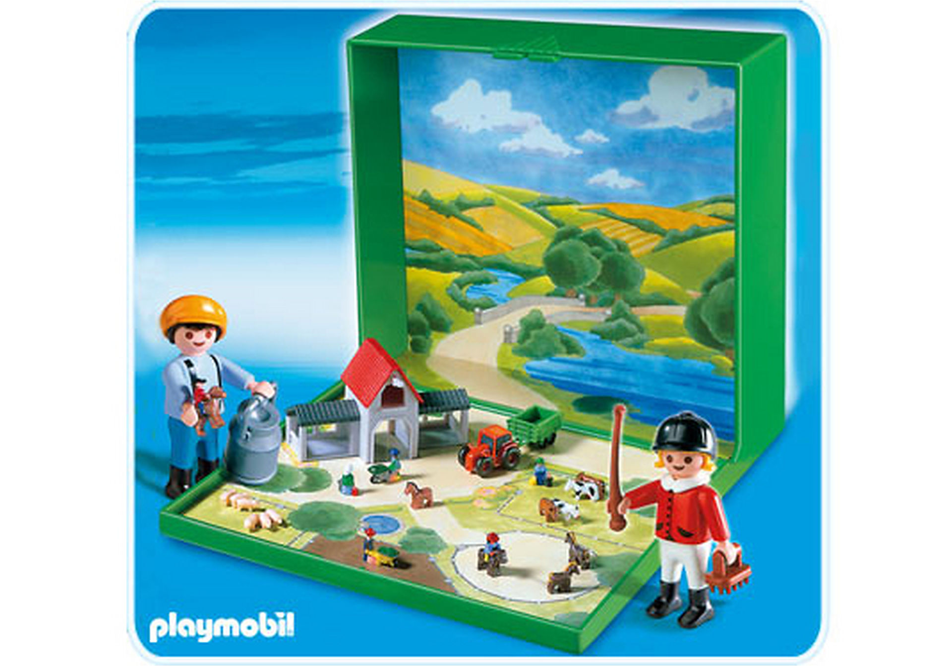 4334-A Micro PLAYMOBIL Ferme zoom image1