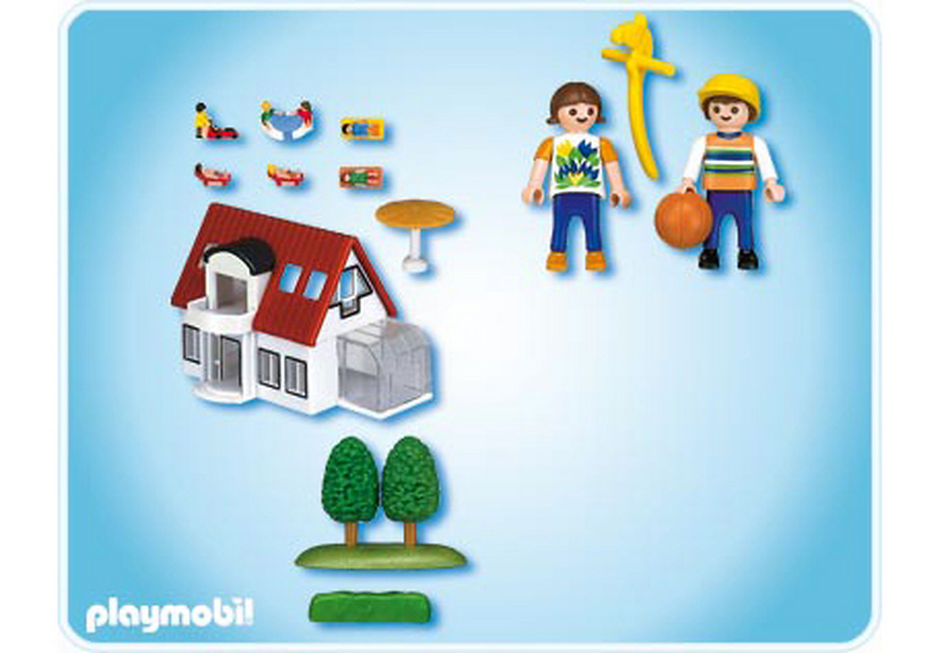 4335-A Micro PLAYMOBIL Villa moderne zoom image2