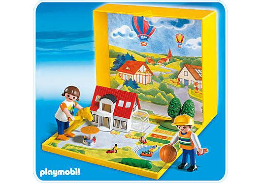 4335-A Micro PLAYMOBIL Villa moderne detail image 1