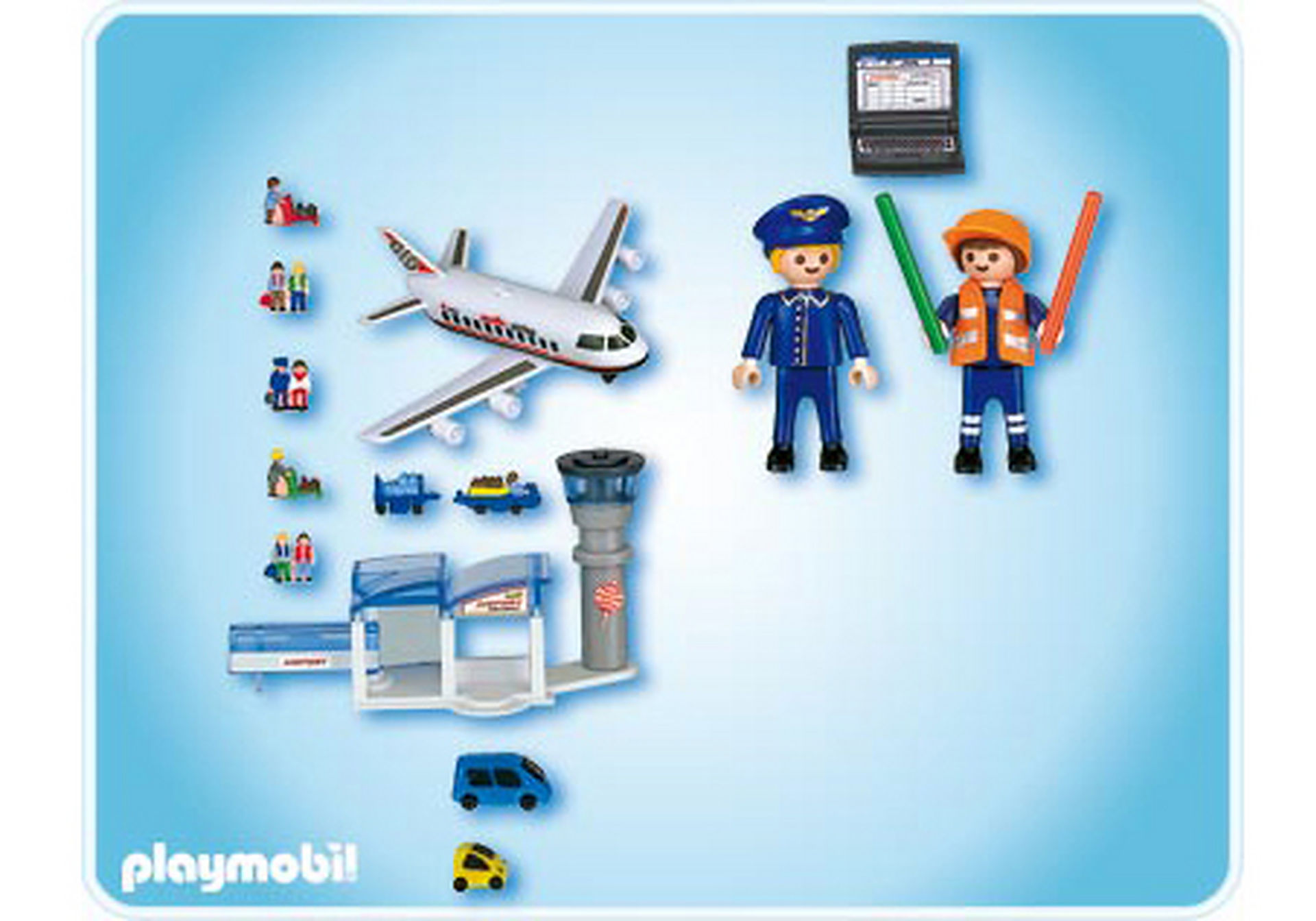 4336-A Micro PLAYMOBIL Aéroport zoom image2