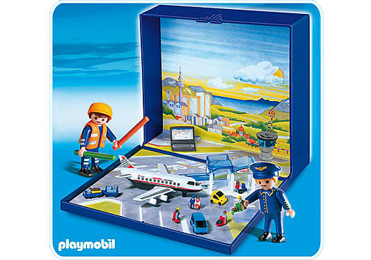 4336-A Micro PLAYMOBIL Aéroport detail image 1