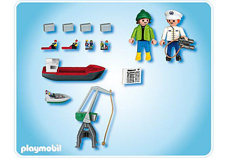 4337-A Micro PLAYMOBIL Port detail image 2