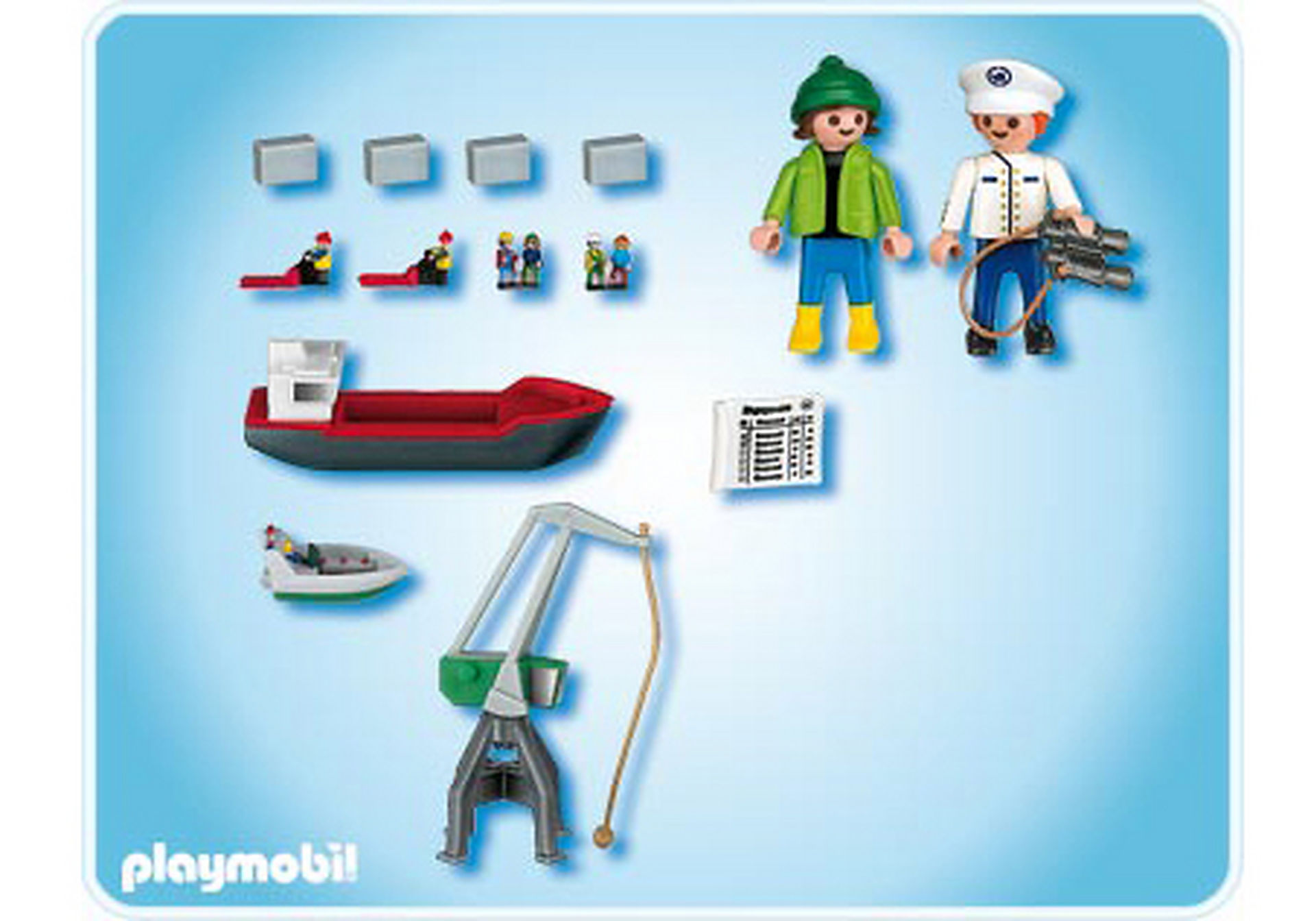 4337-A Micro PLAYMOBIL Port zoom image2