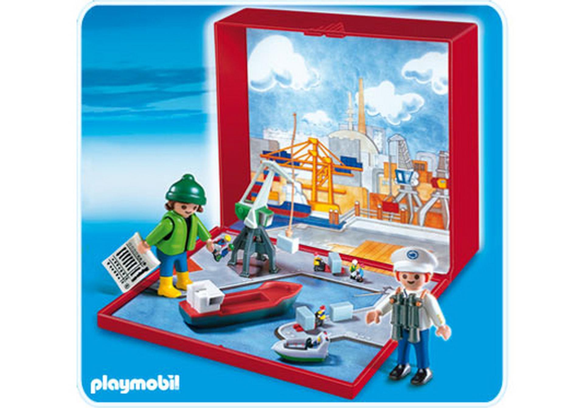 Micro playmobil port 4337 a playmobil france for Micro playmobil