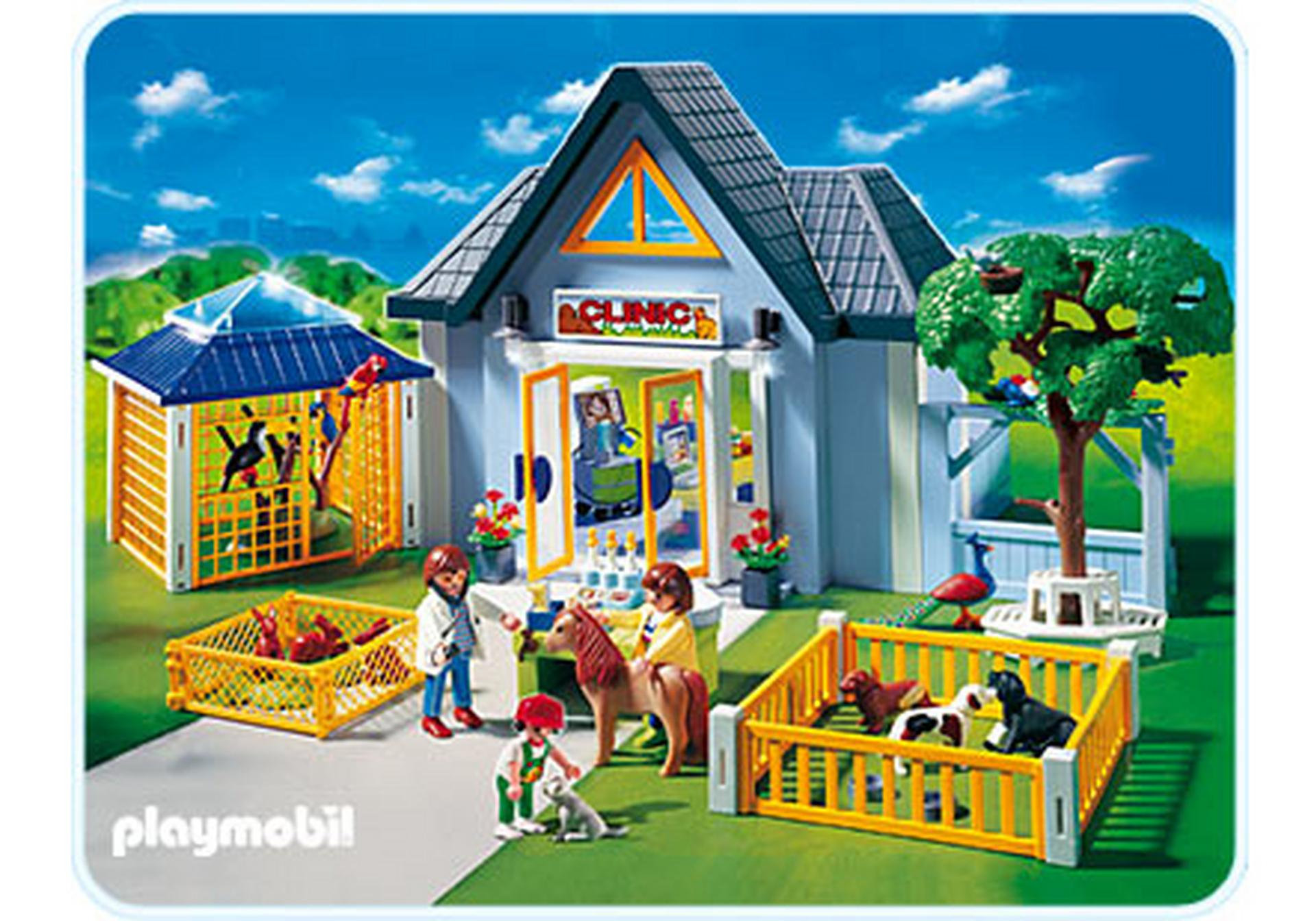 clinique v t rinaire 4343 a playmobil france. Black Bedroom Furniture Sets. Home Design Ideas