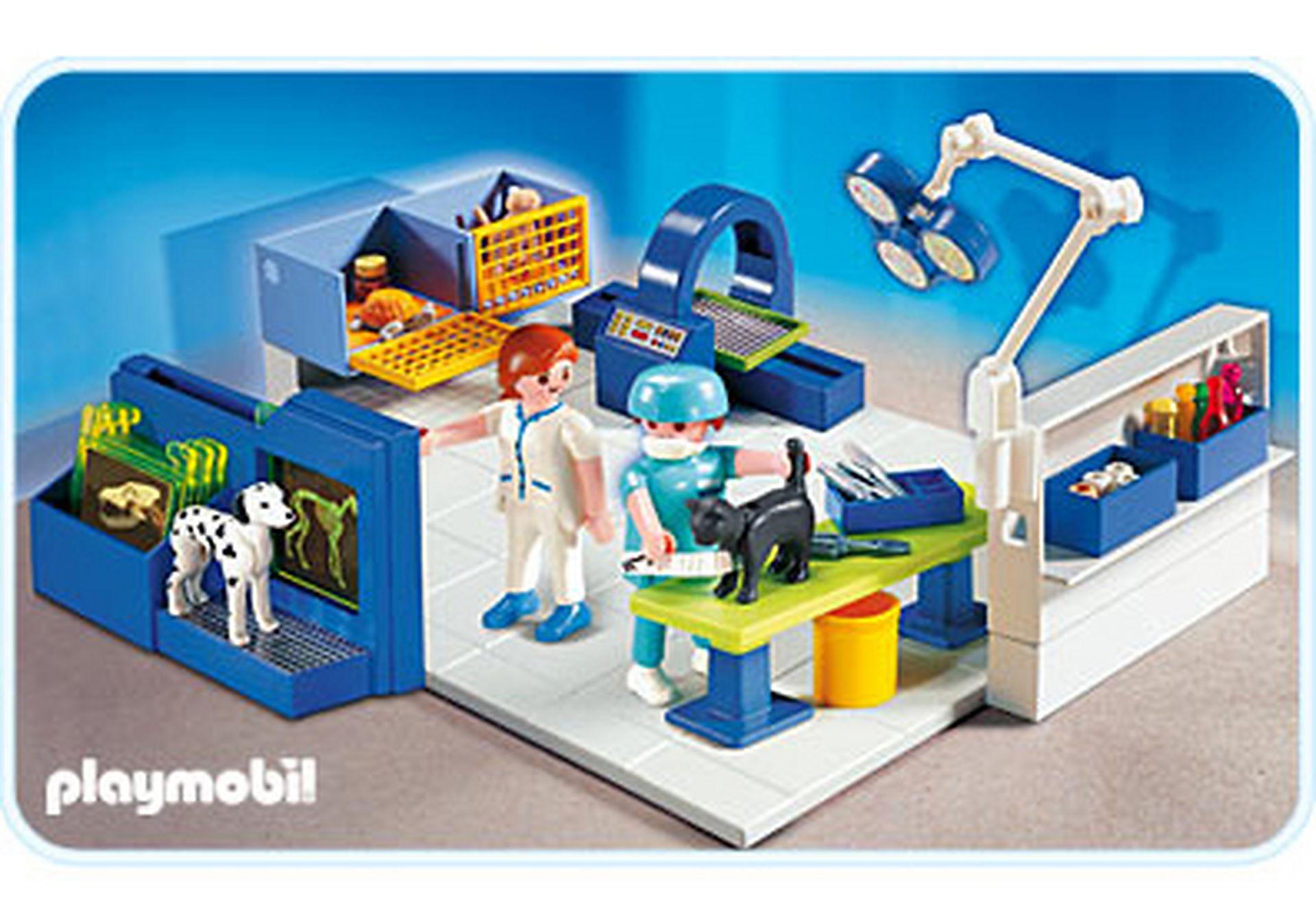 http://media.playmobil.com/i/playmobil/4346-A_product_detail/Equipe vétérinaires et salle d'opération