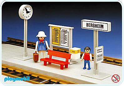 4371-A Kleiner Bahnsteig detail image 1