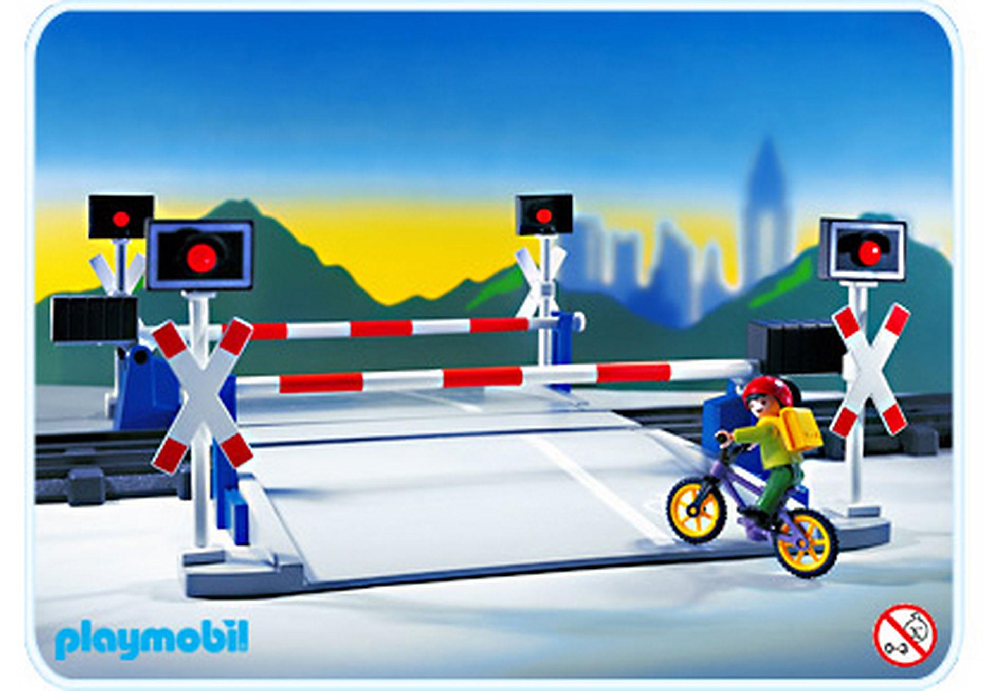 http://media.playmobil.com/i/playmobil/4383-A_product_detail/Beschrankter Bahnübergang