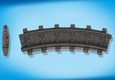 4387 2 καμπύλες σιδηροτροχιές
