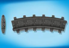 Playmobil 2 Curved Tracks 4387