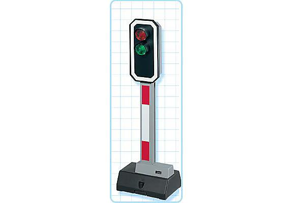 4397-A Signal électrique bicolore detail image 2