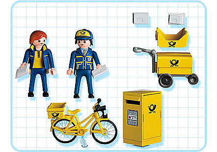 http://media.playmobil.com/i/playmobil/4403-A_product_box_back/Postiers / boîte aux lettres