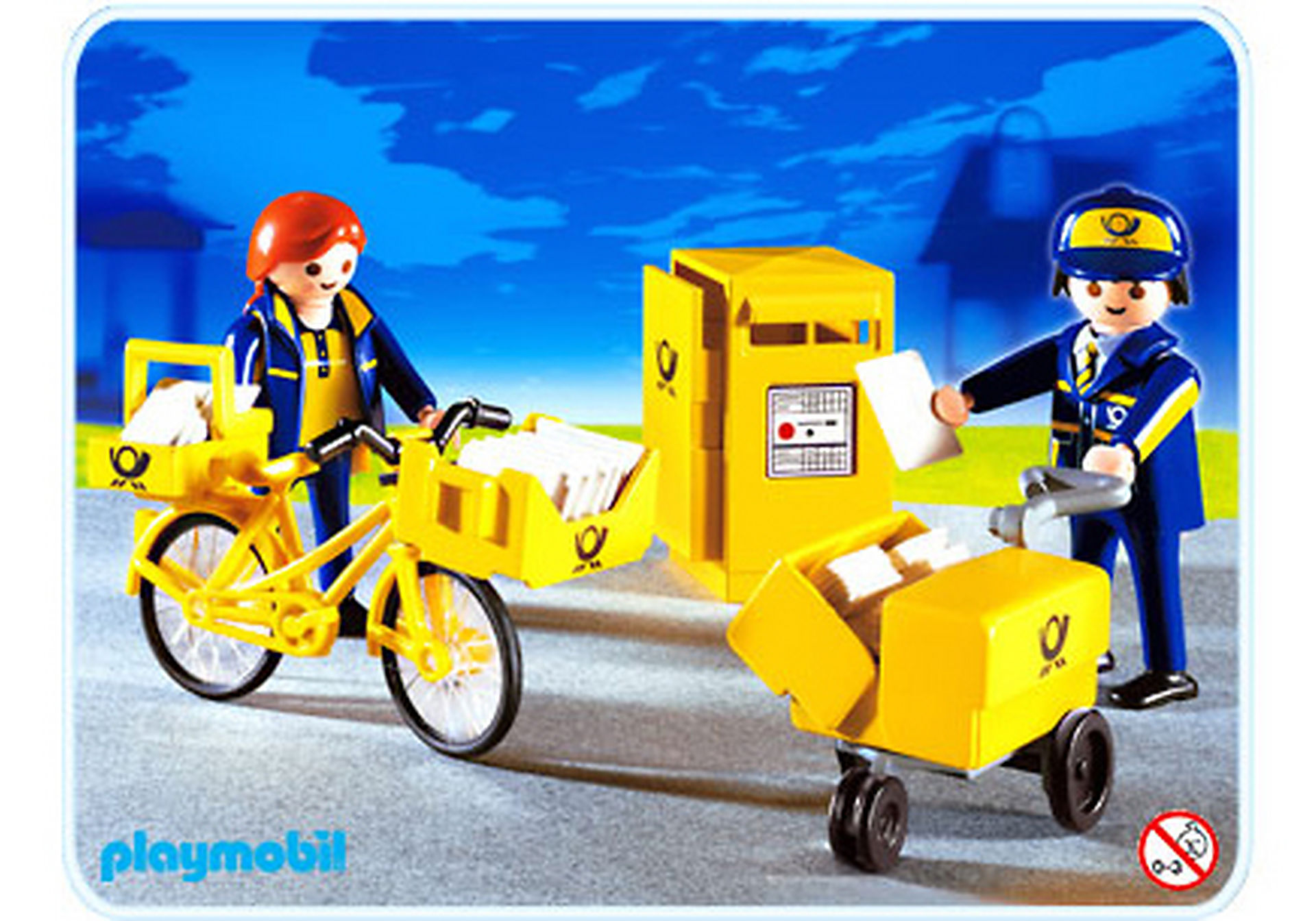 http://media.playmobil.com/i/playmobil/4403-A_product_detail/Postiers / boîte aux lettres