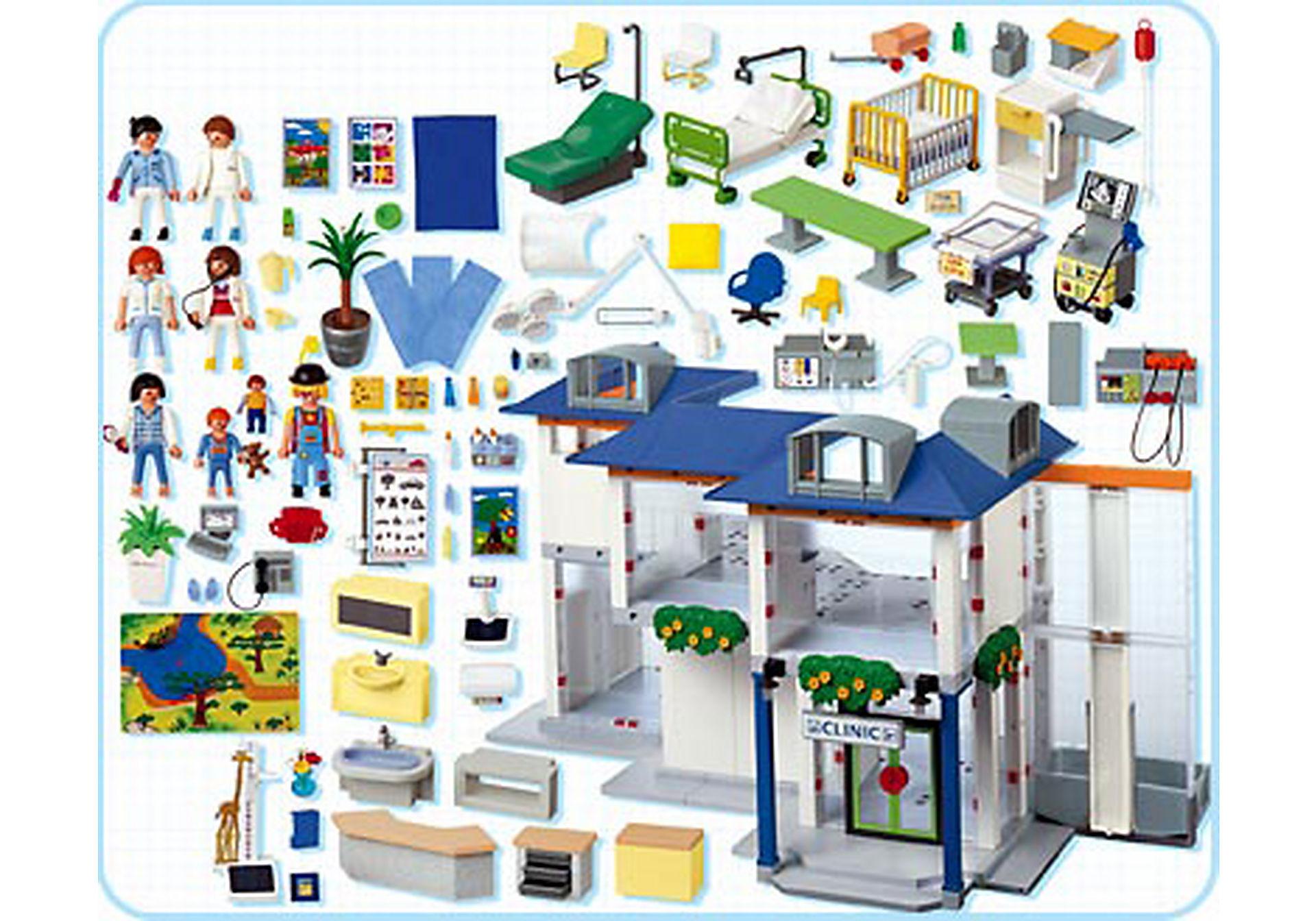 4404-A Großes Krankenhaus mit Einrichtung zoom image2