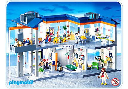 Großes Krankenhaus Mit Einrichtung 4404 A Playmobil