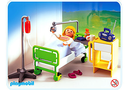 4405-A Patient / chambre d'hôpital detail image 1