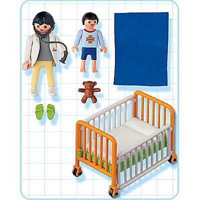 4406-A Kind im Krankenbett detail image 2