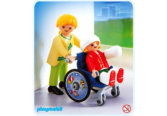 http://media.playmobil.com/i/playmobil/4407-A_product_detail/Maman / enfant / fauteuil roulant