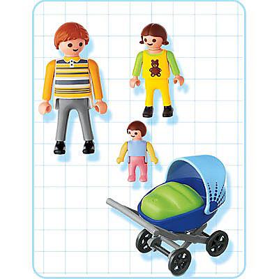 4408-A Papa / enfant / landau detail image 2