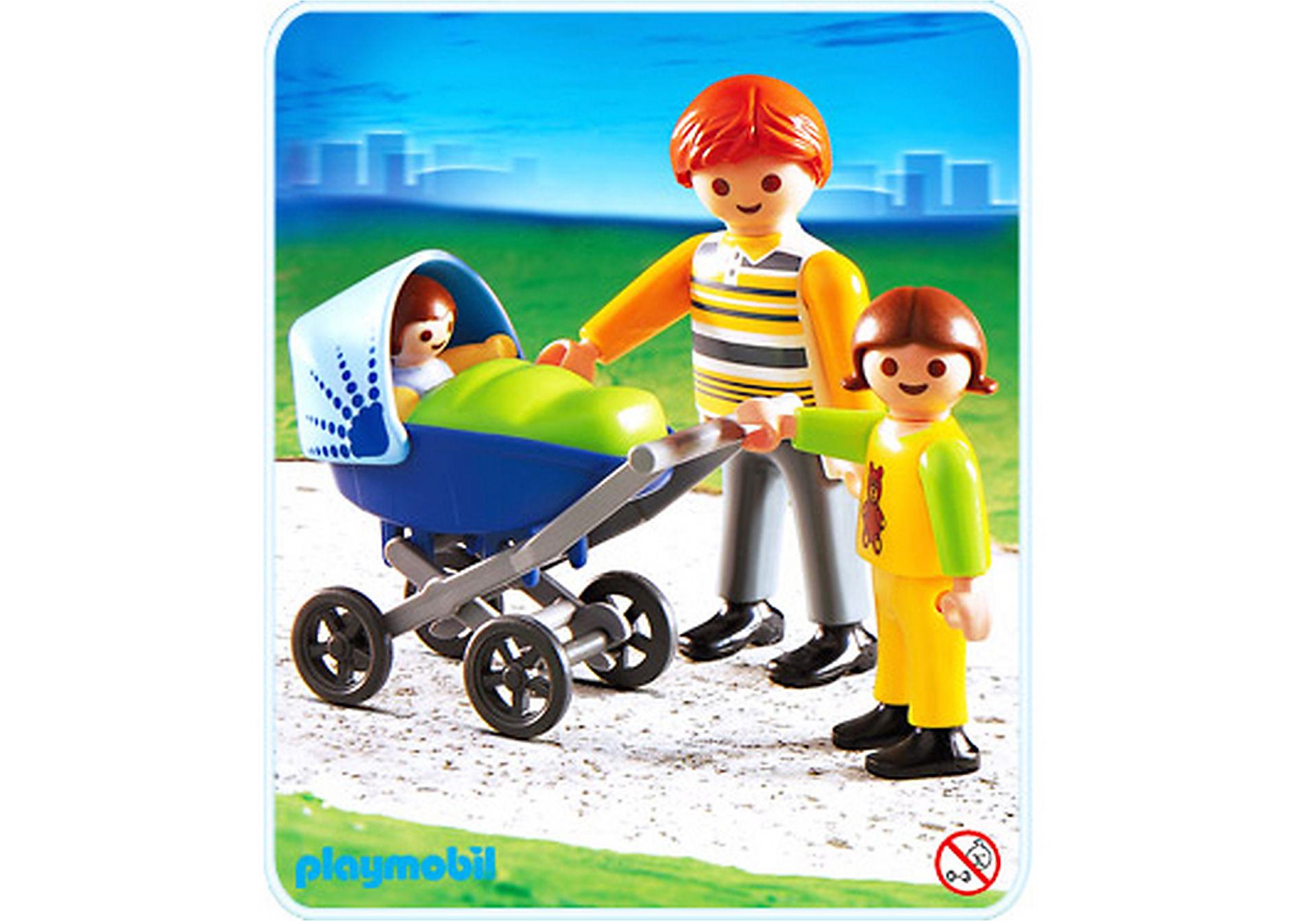 4408-A Papa mit Kinderwagen zoom image1