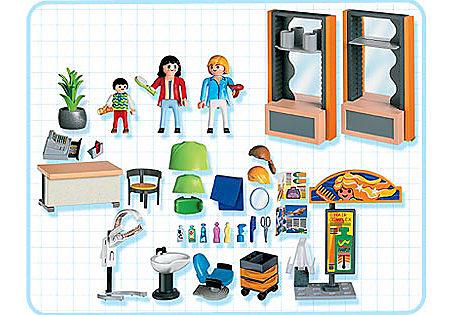 4413-A Coiffeuse / salon de coiffure detail image 2