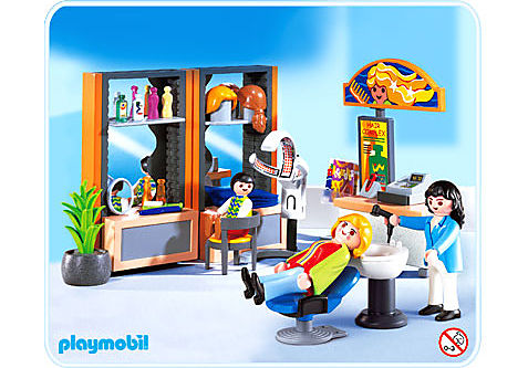 4413-A Coiffeuse / salon de coiffure detail image 1