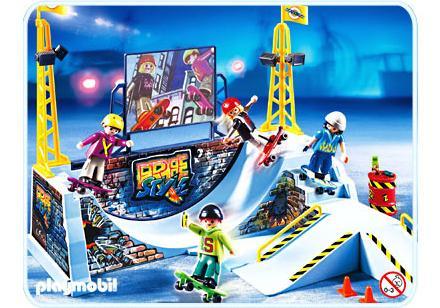 playmobil skaterpark